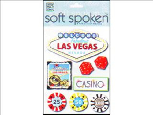 Las Vegas Soft Spoken Vacation Scrapbook Embellishment by Me & My Big Ideas