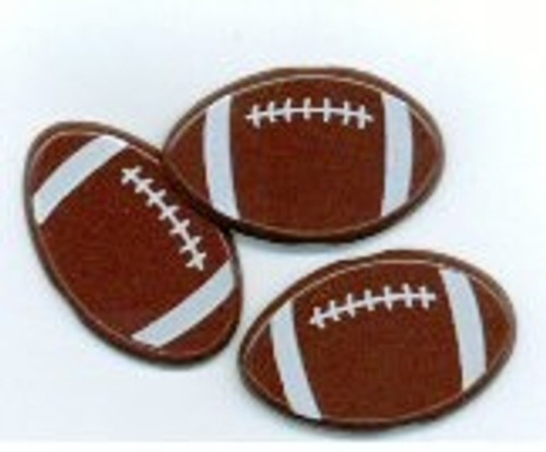 Football Brads by Eyelet Outlet - Pkg. of 12