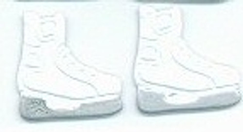 White Ice Skate Brads by Eyelet Outlet - Pkg. of 12