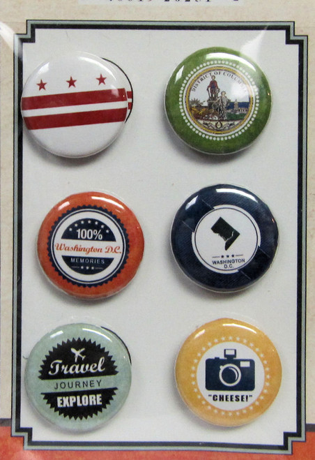 The Vintage Label Collection Washington DC Vintage Doo-Dads by Scrapbook Customs