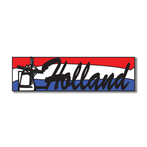 Holland Title Topper Laser Cut by Scrapbook Customs - 12""