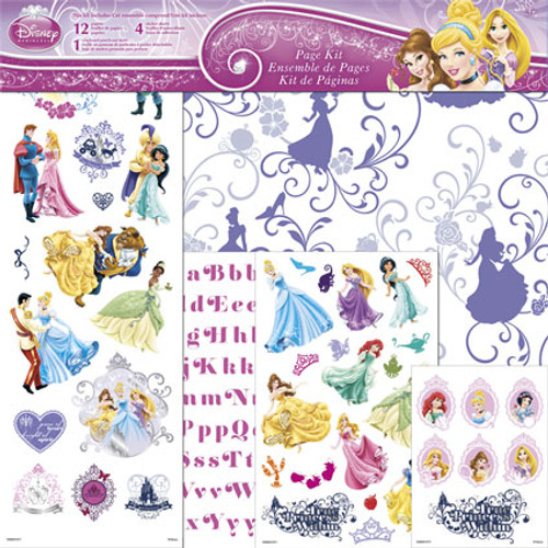 Disney Princess Collection The Princesses 17-Piece Page Kit by Sandylion