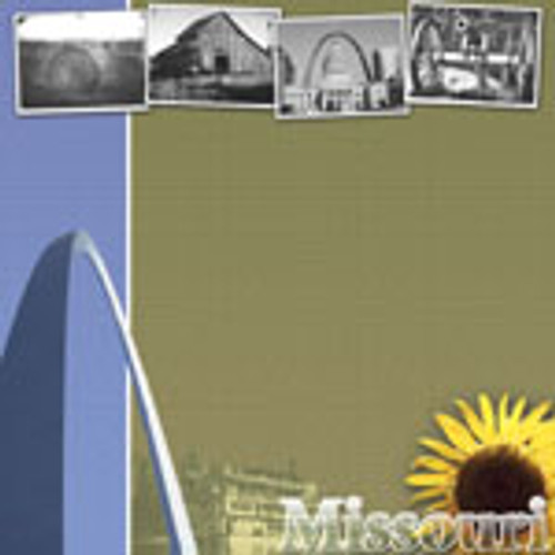Missouri 12 x 12 Vacation Scrapbook Paper by Scrapbook Customs