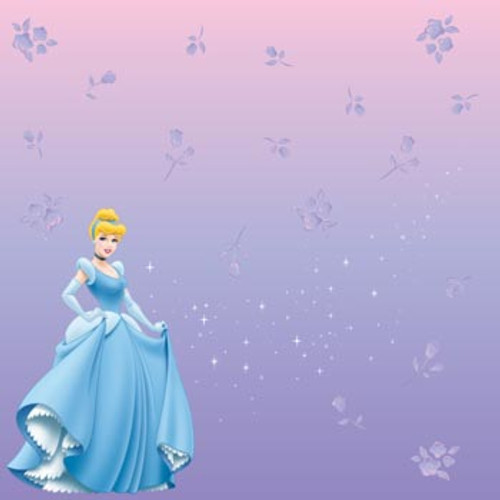 Disney Cinderella Collection Cinderella 12 x 12 Scrapbook Paper by Sandylion