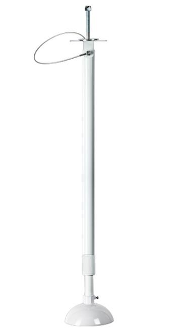 3'-6' Telescoping Camera Pole (White)