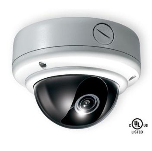 Weather Rated Vandal X Day/Night Dome Camera 700 TVL Resolution (White)