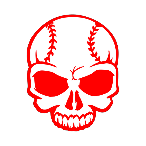 Skull Knob Sticker