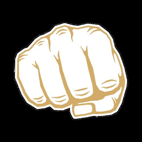 The Fist Knob Sticker