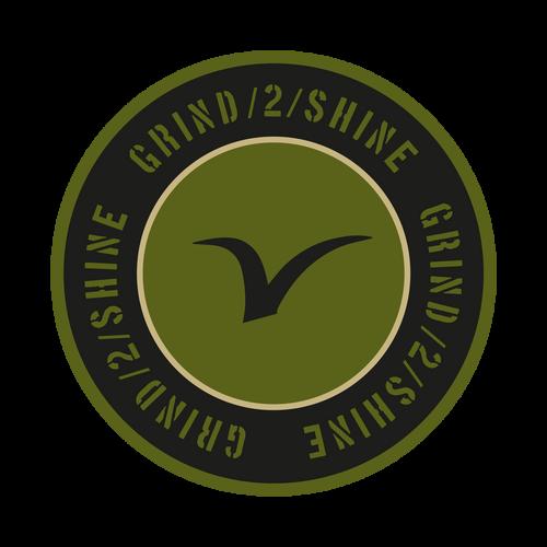 Grind 2 Shine Knob Sticker
