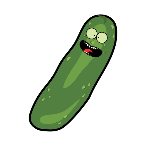 Pickle Knob Sticker