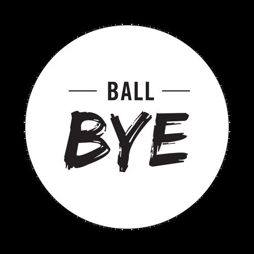 Ball Bye Knob Sticker