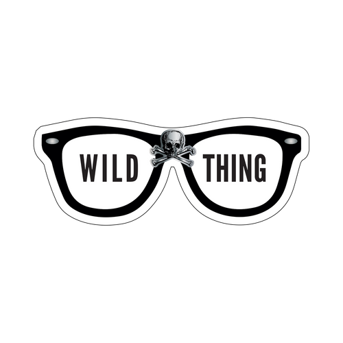 Wild Thing Knob Sticker