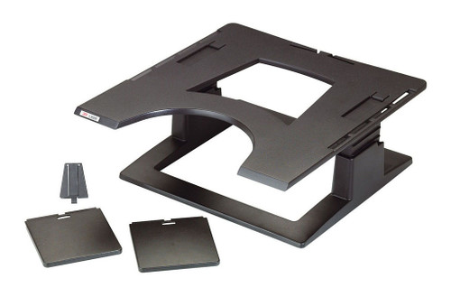 3M Laptop/Notebook Riser LX500 Charcoal Adjustable