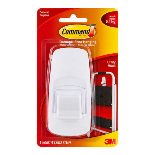 3M Command Hook 17004ANZ Jumbo White