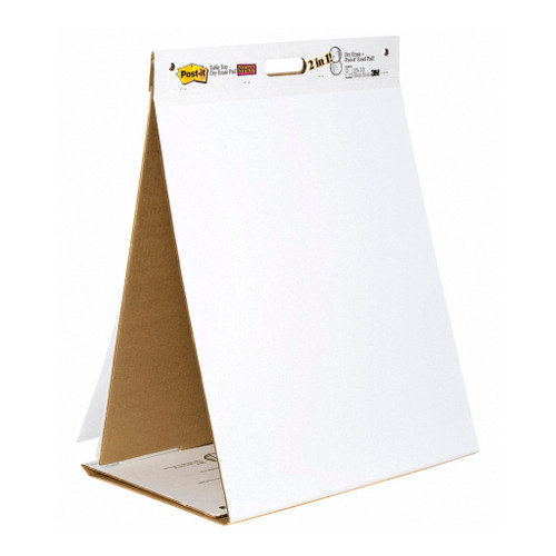 3M Tabletop Easel Pad 563 Dry Erase