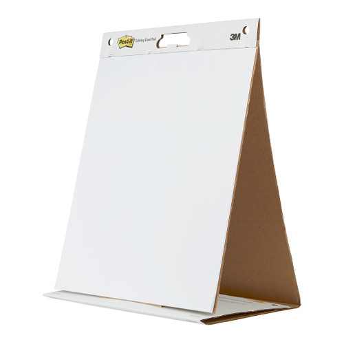 3M Tabletop Easel Pad 563 508x584mm, White, 20 Sheets