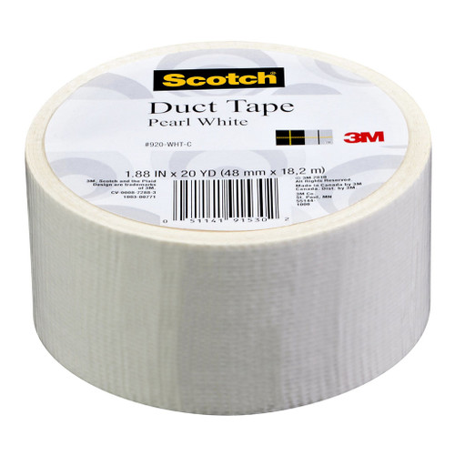 3M Duct Tape 48mm x 18.2m Pearl White