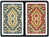 KEM Paisley (Red/Blue) - Narrow Jumbo Double Deck Cards