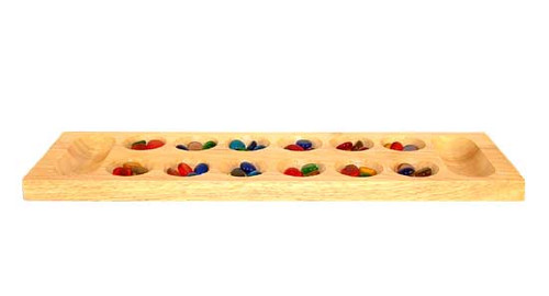 Deluxe Wood Mancala - Board Game