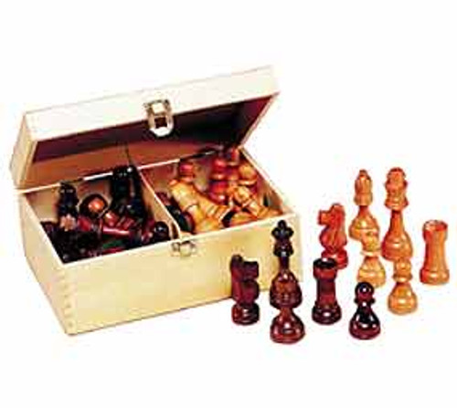 "Chess in a Box - 3.5"" Chessmen"