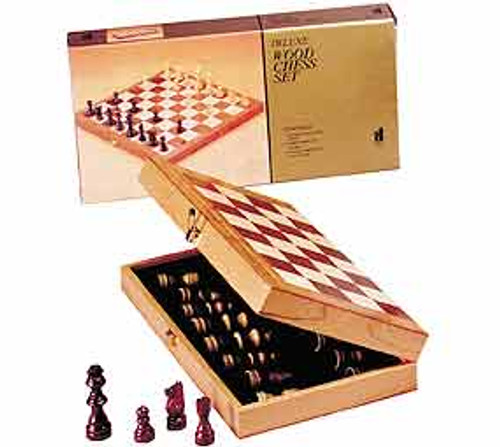 """Chess in a Box with 15"""" Board - Chess Set"""