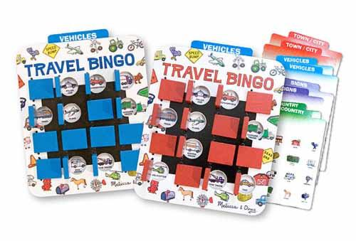 Bingo - Flip to Win Travel Game