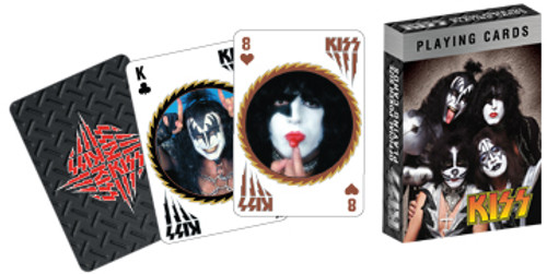 Kiss - Playing Card Deck