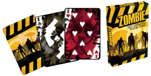 Zombie Post Apocalypse - Playing Card Deck