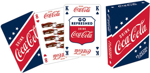 Coca-Cola Blue - Playing Card Deck