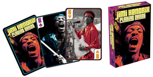 Jimi Hendrix - Playing Card Deck