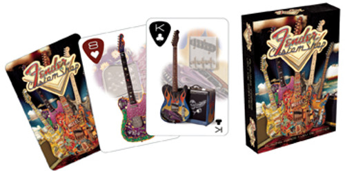 Fender: Custom Shop - Playing Card Deck
