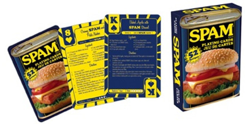Spam Recipes - Playing Card Deck