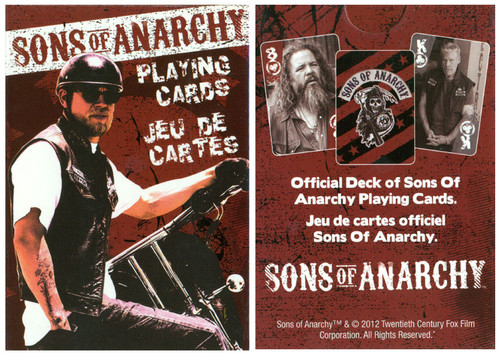 Sons Of Anarchy - Playing Card Deck