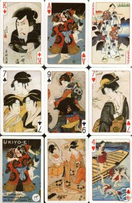 Ukiyo-E - Playing Cards
