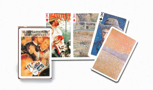 Impressionists Masters - Playing Cards