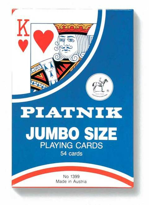 "Giant 7"" x 4"" - Oversize Playing Cards"
