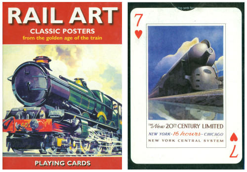 Rail Art - Playing Cards
