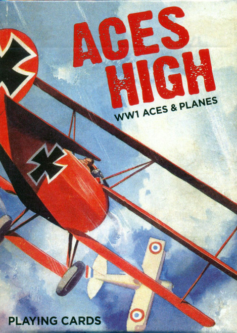 Aces High - Single Deck Playing Cards