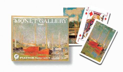 Monet: Boats - Double Deck Playing Cards