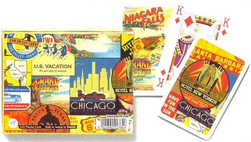 US Vacation - Double Deck Playing Cards
