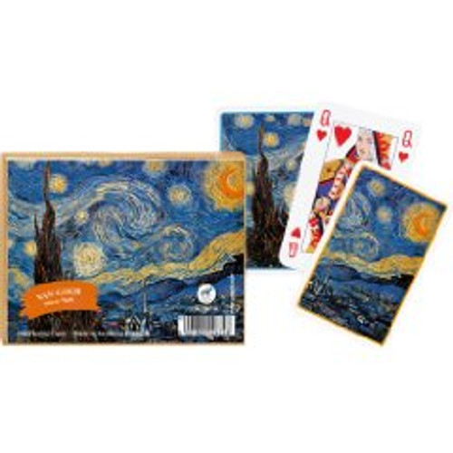 Van Gogh: Starry Night - Double Deck Playing Cards