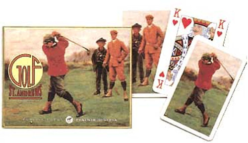 St Andrews Golf - Double Deck Playing Cards