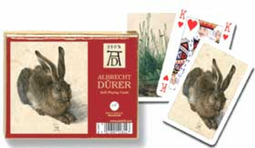 Durer: Hare - Double Deck Playing Cards