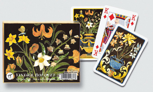 Vintage Bouquet - Double Deck Playing Cards