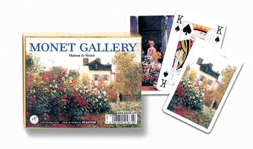 Monet: Maison - Double Deck Playing Cards