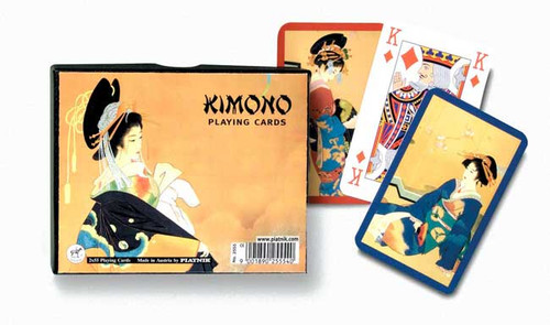 Kimono - Double Deck Playing Cards