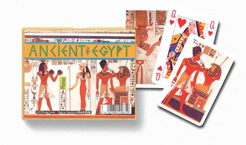 Angient Egypt - Double Deck Playing Cards