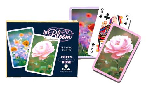 Poppy & Rose - Double Deck Playing Cards