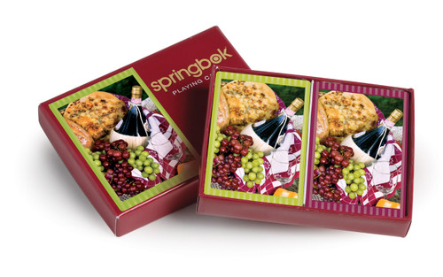 Picnic Perfect - Double Deck Playing Cards by Springbok