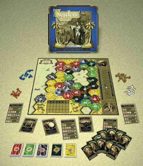 Settlers of Canaan - Board Game